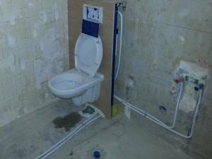 installatiewerk toilet